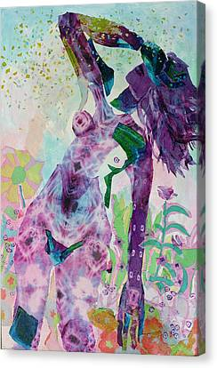Evanescence Canvas Print by Diane Fine