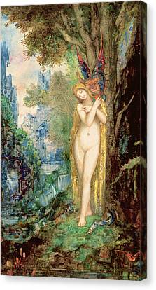 Eve Canvas Print by Gustave Moreau