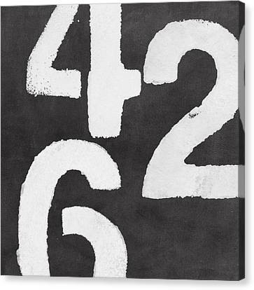 Even Numbers Canvas Print by Linda Woods