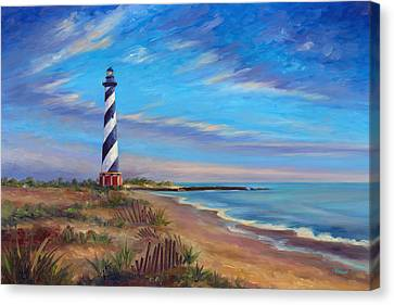 Evening At Cape Hatteras Canvas Print by Jeff Pittman