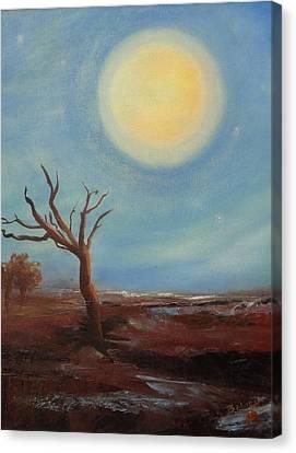 Evening Glow...hope Canvas Print by Trish Bilich