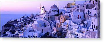 Evening, Ia, Santorini, Greece Canvas Print by Panoramic Images