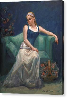 Evening Repose Canvas Print by Sarah Parks
