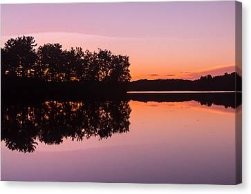 Evening Canvas Print by Torkomian Photography