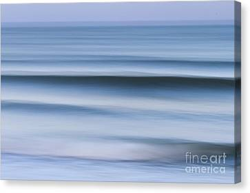 Evening Waves Canvas Print by Katherine Gendreau