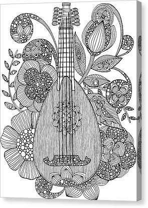 Ever Mandolin Canvas Print by Valentina Harper