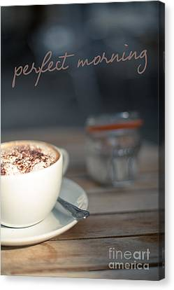 Everybodys Perfect Morning Canvas Print by Wolf Kettler