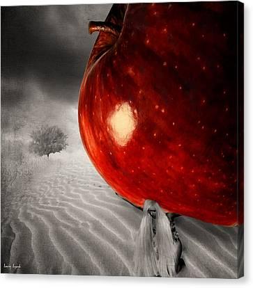 Eve's Burden Canvas Print by Lourry Legarde