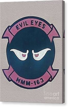 Evil Eyes Canvas Print by Gregory Dyer