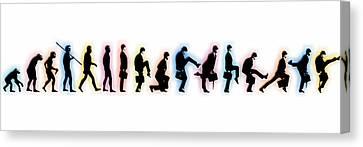 Evolution Canvas Print by Tony Rubino