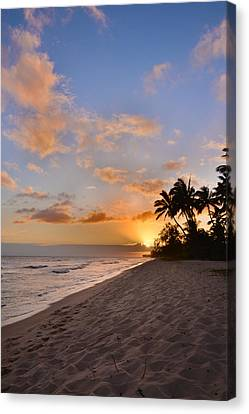 Ewa Beach Sunset 2 - Oahu Hawaii Canvas Print by Brian Harig
