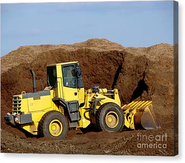 Excavation  Canvas Print by Olivier Le Queinec