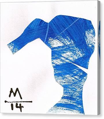 Execo No.12  Canvas Print by Mark M  Mellon