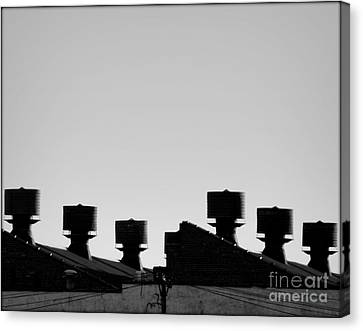 Exhausted Canvas Print by James Aiken