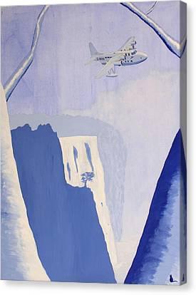 Exile Canvas Print by Jonathan Laverick