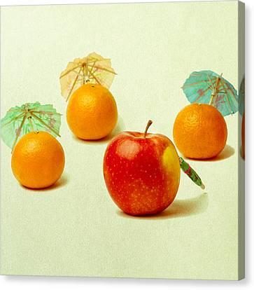 Exotic Fruit - Square Canvas Print by Alexander Senin