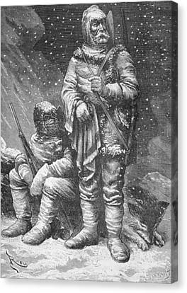 Exploration Costumes Canvas Print by Charles Barbant