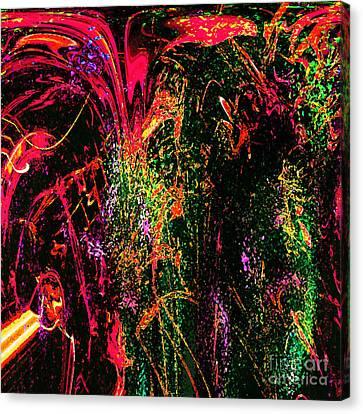 Explosion Of Desire Canvas Print by Ashantaey Sunny-Fay