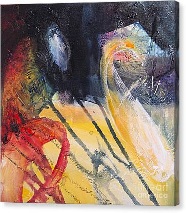 Expresion 2 Canvas Print by Ira Ivanova