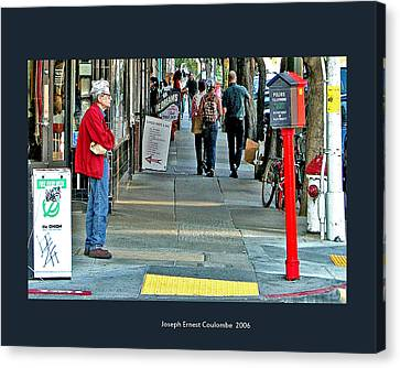 Express Photos Canvas Print by Joseph Coulombe