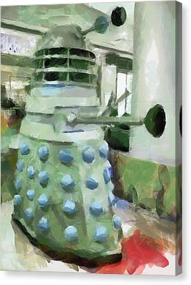 Exterminate Canvas Print by Steve Taylor