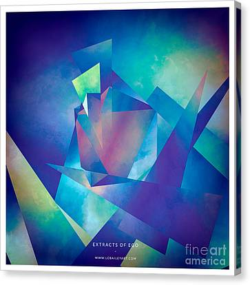 Extracts Of Ego Canvas Print by Lonnie Christopher