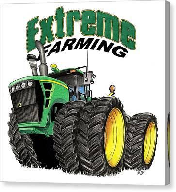 Extreme Farming Canvas Print by Lyle Brown