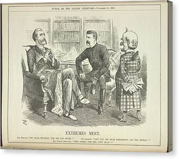 Extremes Meet Canvas Print by British Library
