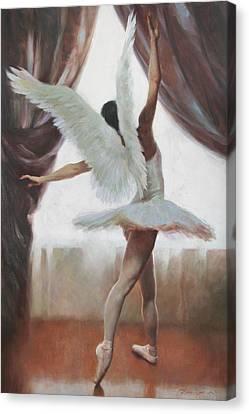 Exultation Canvas Print by Anna Rose Bain