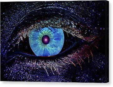 Eye In The Sky Canvas Print by Joann Vitali