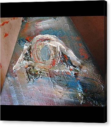 Eye Canvas Print by Marianna Mills