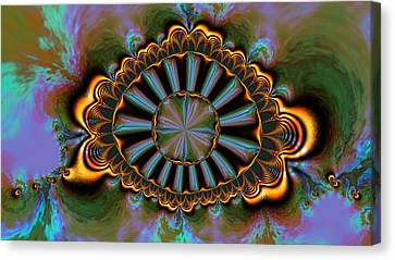 Eye Of Centauris Canvas Print by Claude McCoy