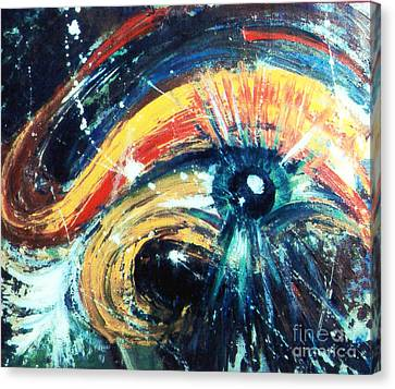 Eye Of The Beholder Canvas Print by Stephen Brooks