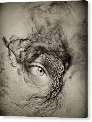 Eye Of The I Canvas Print by Gun Legler