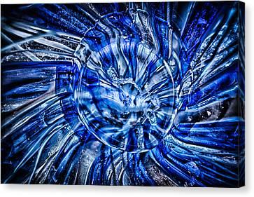 Eye Of The Storm Canvas Print by Omaste Witkowski