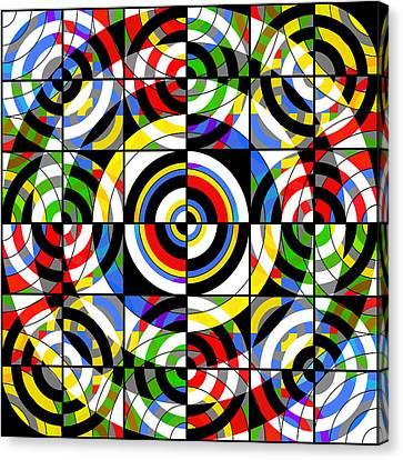 Eye On Target Canvas Print by Mike McGlothlen