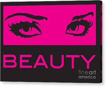 Eyes On Beauty Canvas Print by Suzi Nelson