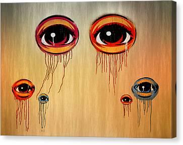 Eyes Canvas Print by Steven  Michael