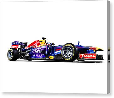 F1 Red Bull Rb9 Canvas Print by Gianfranco Weiss