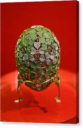 Faberge Egg Canvas Print by Science Photo Library