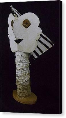 Fabulas Bust Of Man  Canvas Print by Mark M  Mellon