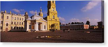 Facade Of A Cathedral, Peter And Paul Canvas Print by Panoramic Images