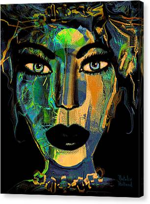 Face 16 Canvas Print by Natalie Holland