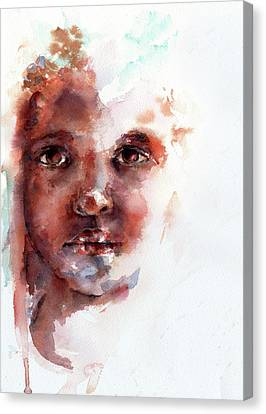 Face Of Africa Canvas Print by Stephie Butler