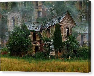 Faded Dreams Canvas Print by Julie Dant