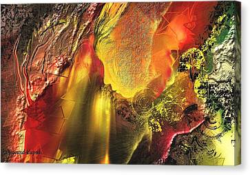 Faille Canvas Print by Francoise Dugourd-Caput