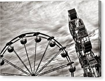 Fairground Canvas Print by Olivier Le Queinec