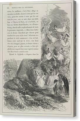 Fairies Canvas Print by British Library
