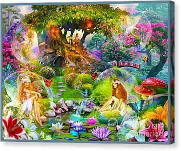 Fairies Canvas Print by Jan Patrik Krasny