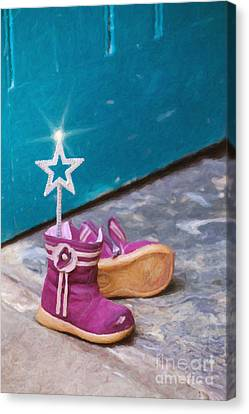 Fairy At The Door  Canvas Print by Tim Gainey